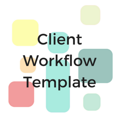 Bookkeeping client workflow template asana